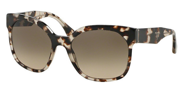 Prada   PR 10RS UAO3D0 LIGHT BROWN GRAD LIGHT GREYSPOTTED OPAL BROWN
