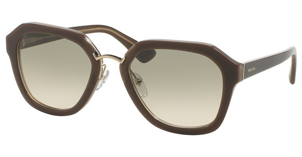Prada PR 25RS UED3H2 LIGHT BROWN GRAD LIGHT GREENOPAL BROWN/BEIGE/OPAL BROWN