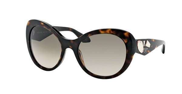 Prada PR 26QS 2AU3D0 LIGHT BROWN GRAD LIGHT GREYHAVANA