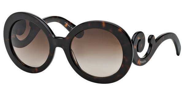 Prada PR 27NS 2AU6S1 BROWN GRADIENTHAVANA