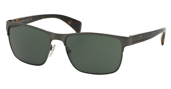Prada PR 51OS DHG3O1 GREY GREENANTIQUE BRUSHED GUNMETAL
