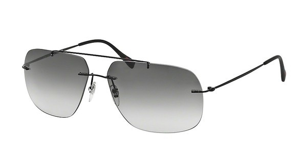 Prada Sport PS 55PS 1BO0A7 GREY GRADIENTMATTE BLACK