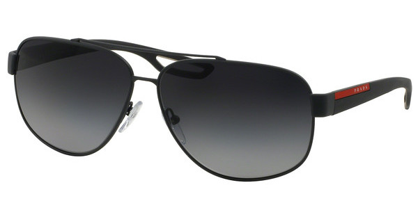 Prada Sport PS 58QS TFZ5W1 POLAR GREY GRADIENTGREY RUBBER