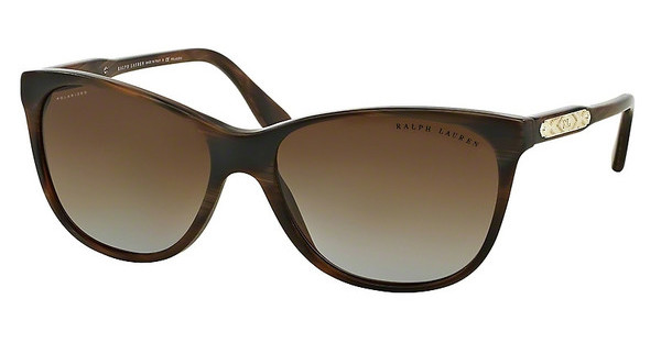 Ralph Lauren RL8120 5472T5 POLAR GRADIENT BROWNHORN BROWN VINTAGE