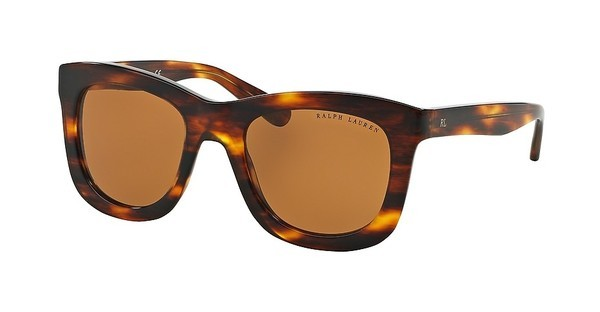 Ralph Lauren RL8137 500773 BROWNSTRIPPED HAVANA