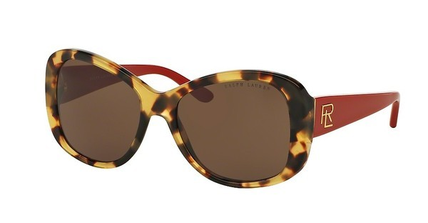 Ralph Lauren RL8144 500473 BROWNSHINY SPOTTY TORTOISE