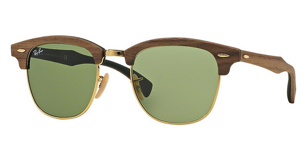 Ray-Ban RB3016M 11824E GREENWALNUT RUBBER GREEN