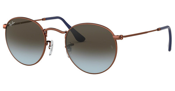 Ray-Ban RB3447 900396 BLUE GRADIENT BROWNSHINY DARK BRONZE