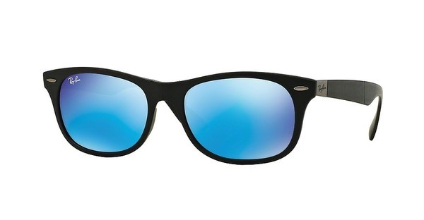Ray-Ban RB4223 601S55 LIGHT GREEN MIRROR BLUEMATTE BLACK