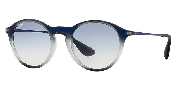 Ray-Ban RB4243 622519 CLEAR GRADIENT LIGHT BLUEBLUE SHOT ON BLACK