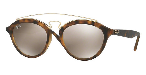 Ray-Ban RB4257 60925A LIGHT BROWN MIRROR GOLDMATTE HAVANA