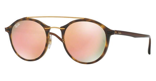 Ray-Ban RB4266 710/2Y LIGHT BROWN MIRROR PINKSHINY HAVANA
