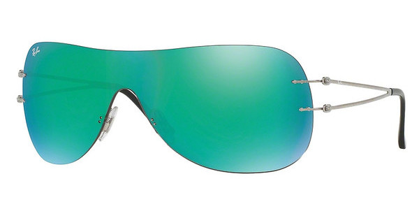 Ray-Ban RB8057 159/3R GREEN FLASHSHINY GREY