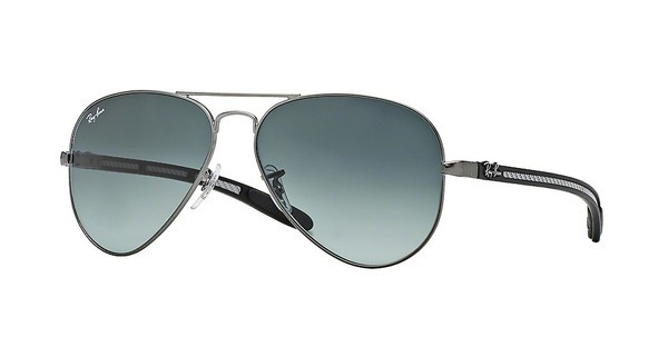 Ray-Ban RB8307 029/71 GREY GRADIENT DARK GREYMATTE GUNMETAL