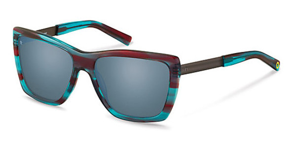 Rocco by Rodenstock RR320 D blue mirror - 88%red