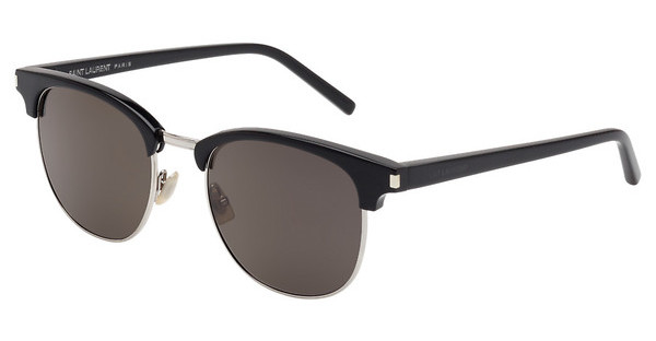 Saint Laurent SL 108 001 SMOKEBLACK