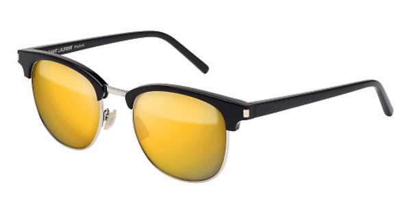 Saint Laurent SL 108 SURF 001 GOLDBLACK