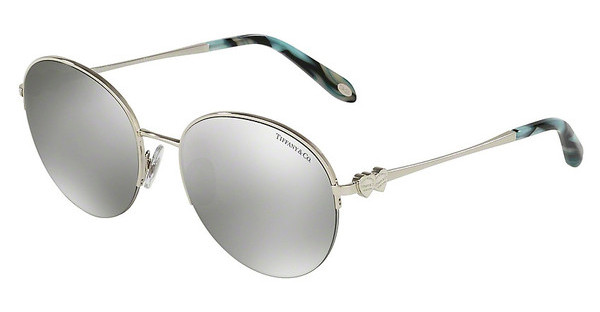 Tiffany TF3053 61086V LIGHT GREY MIRROR SILVERSILVER
