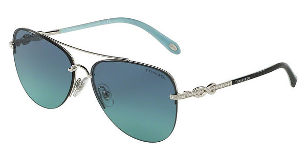 Tiffany TF3054B 60019S AZURE GRADIENT BLUESILVER