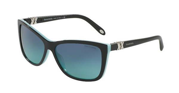 Tiffany TF4124 80559S BLUE GRADIENTBLACK/BLUE
