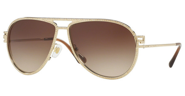Versace VE2171B 125213 BROWN GRADIENTPALE GOLD