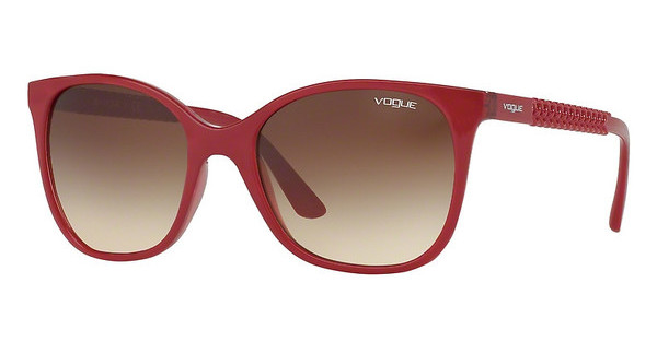 Vogue VO5032S 247013 BROWN GRADIENTTOP RED/TRANSP RED