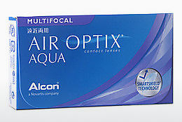 Lentes de contacto Alcon AIR OPTIX AQUA MULTIFOCAL (AIR OPTIX AQUA MULTIFOCAL AOM6H)