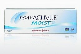 Lentes de contacto Johnson & Johnson 1 DAY ACUVUE MOIST 1DM-90P-REV