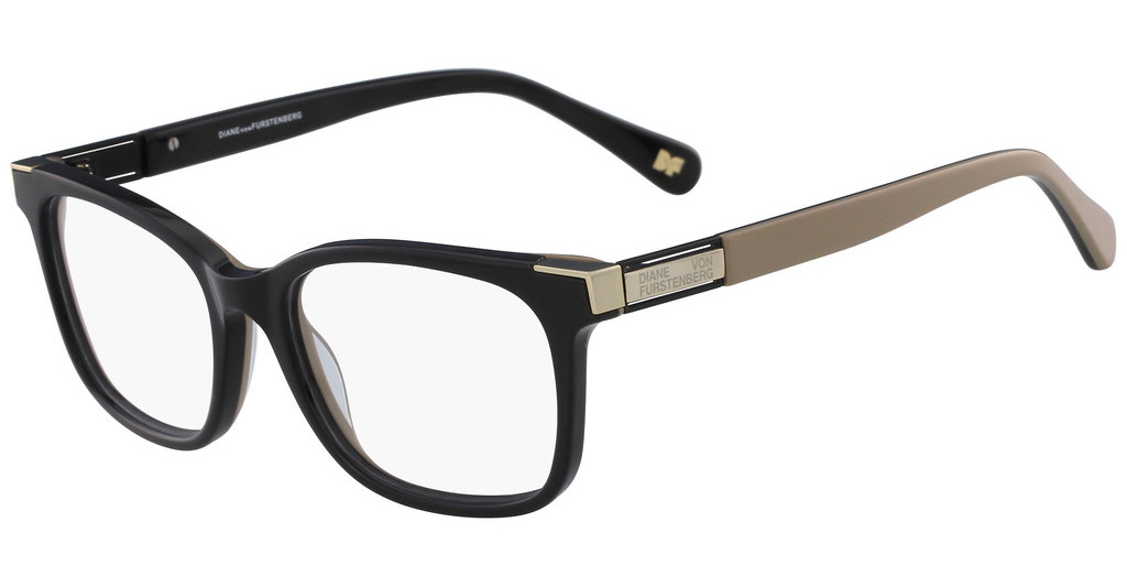 Diane von Fürstenberg   DVF5105 010 BLACK/BROWN LAMINATE