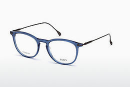 Óculos de design Tod's TO5187 090 - Azul, Shiny