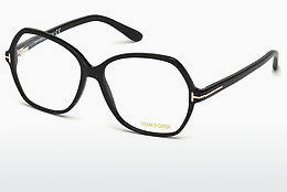 Óculos de design Tom Ford FT5300 001 - Preto, Shiny