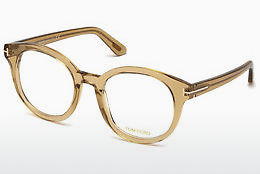 Óculos de design Tom Ford FT5491 045 - Castanho, Bright, Shiny
