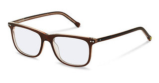 Rocco by Rodenstock RR433 D brown transparent layered