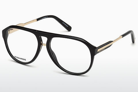 Óculos de design Dsquared DQ5242 001