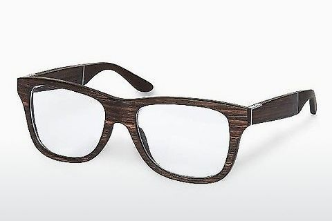 Óculos de design Wood Fellas Prinzregenten (10900 ebony)