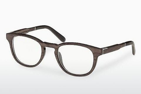 Óculos de design Wood Fellas Bogenhausen (10911 black oak)