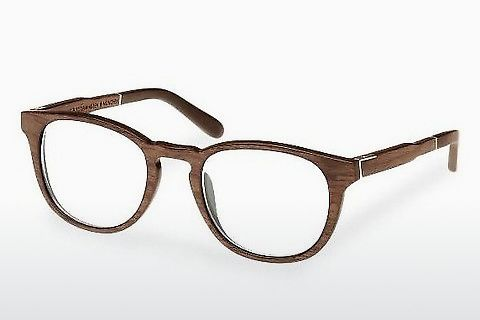 Óculos de design Wood Fellas Bogenhausen (10911 walnut)