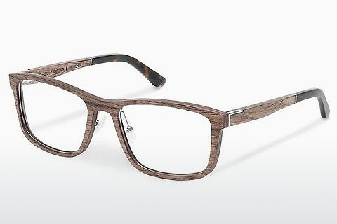 Óculos de design Wood Fellas Giesing (10918 walnut)