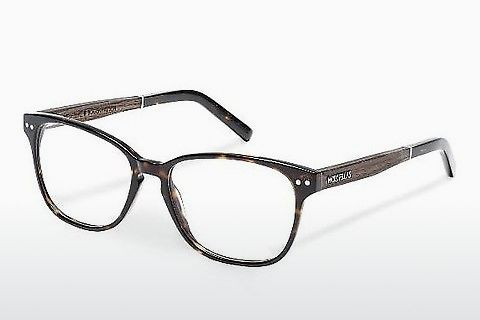 Óculos de design Wood Fellas Bogenhausen (10930 ebony/havana)