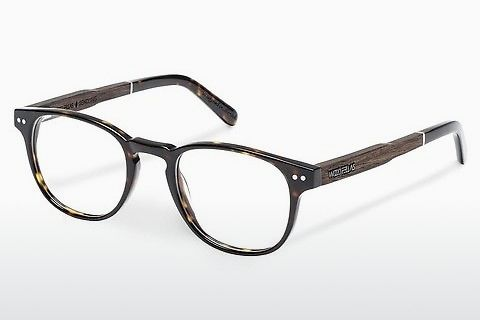 Óculos de design Wood Fellas Sendling (10931 ebony/havana)