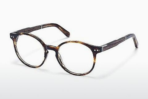 Óculos de design Wood Fellas Solln Premium (10935 ebony/havana)
