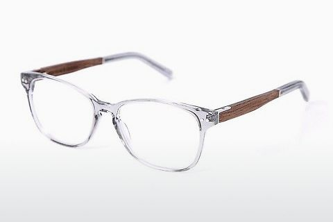 Óculos de design Wood Fellas Sendling Premium (10937 walnut/grey)