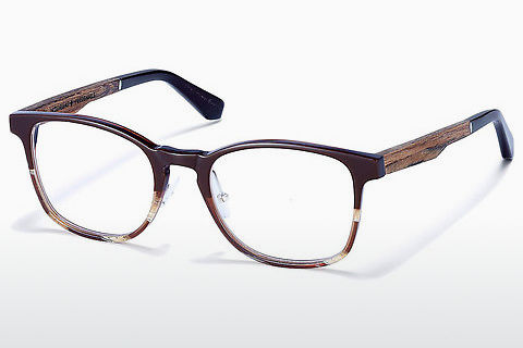 Óculos de design Wood Fellas Friedenfels (10975 walnut)