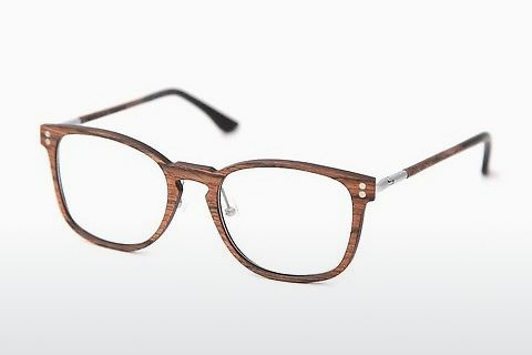 Óculos de design Wood Fellas Pertenstein (10990 walnut)
