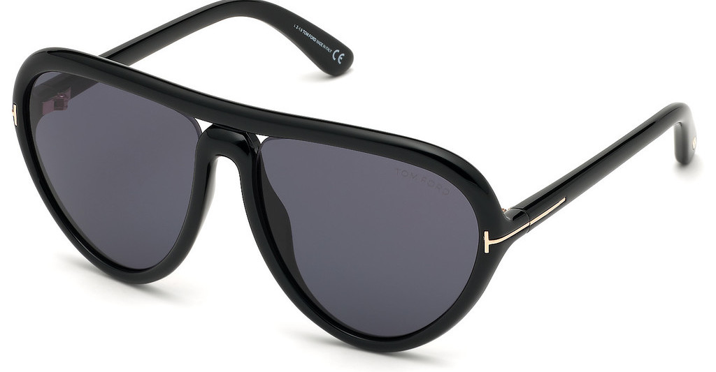 Tom Ford   FT0769 01A grauschwarz glanz
