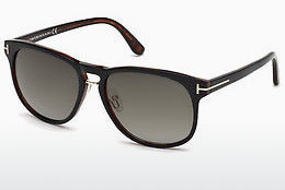 Óculos de marca Tom Ford Franklin (FT0346 01V) - Preto, Shiny
