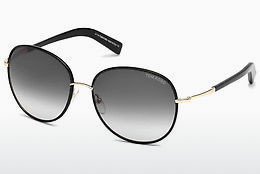 Óculos de marca Tom Ford Georgia (FT0498 01B) - Preto, Shiny