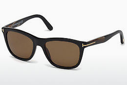 Óculos de marca Tom Ford Andrew (FT0500 01H) - Preto, Shiny