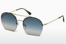 Óculos de marca Tom Ford Antonia (FT0506 28W) - Dourado