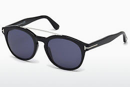 Óculos de marca Tom Ford Newman (FT0515 01V) - Preto, Shiny
